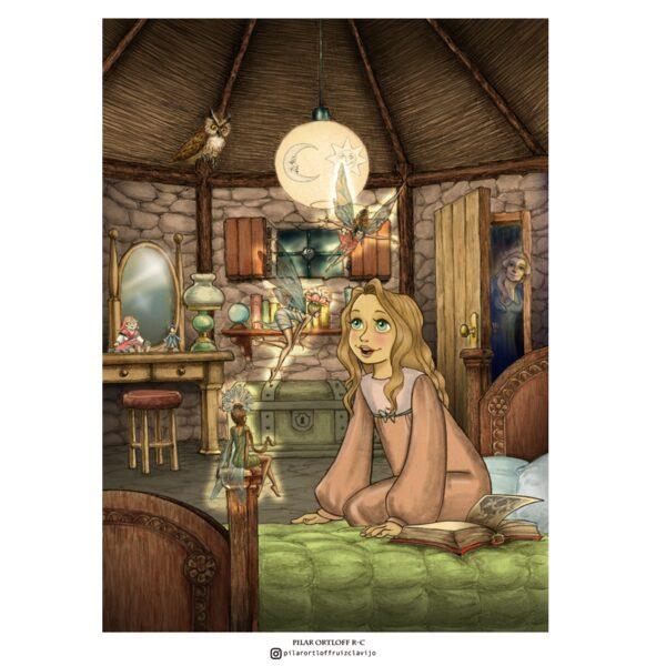 Poster Dormitorio Hadas