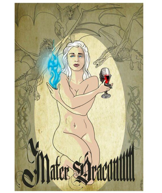 Poster Madre Dragones